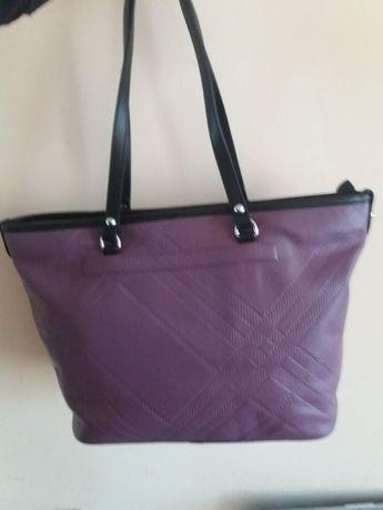 Оригинална италианска чанта от естествена кожа