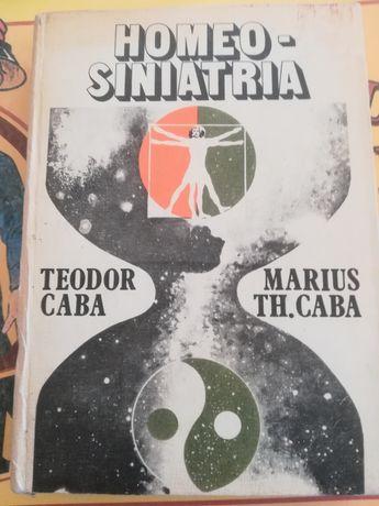 Carte homeo siniatria din anul 1983 in stare f. bună