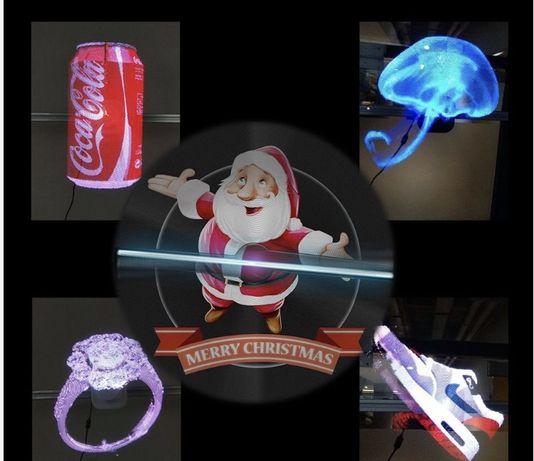3D - голограмма , проектор , вентилятор