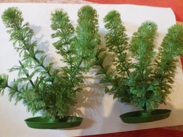 Изкуствени растения за аквариум