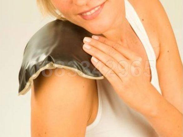 НОВИ! Лечебна възглавница с натурална лечебна кал затопляща/ охлаждаща