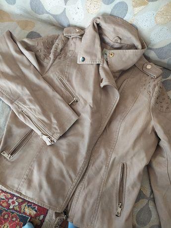 Продам легкий кожаный пиджак