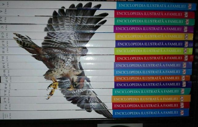 Vând set Enciclopedia ilustrata a familiei