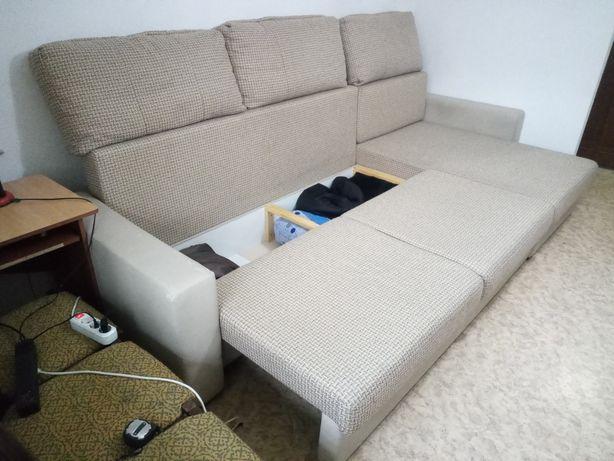 Угловой диван белорусский Веймар с универсальным углом