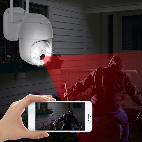5 MP Lens! Wifi- въртяща смарт камера за външна употреба- Full HD 1080