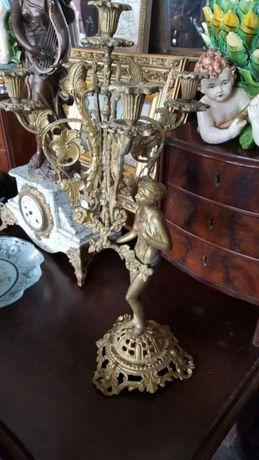 Pereche sfesnice bronz