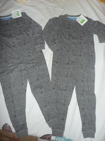 2бр. нови цели пижамки за 3-4 год. момченца