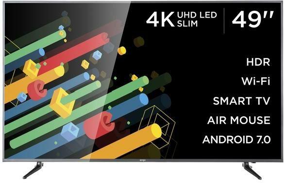 Продам 4K SMART ANDROID TV Ergo 49du6510