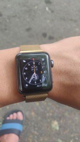 Apple watch 3 series 38 mm в хорошем состоянии