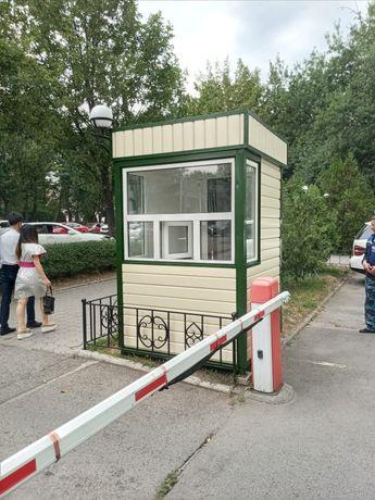 Изготовление охранной будки
