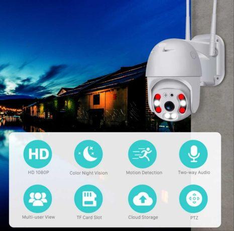 Камера, външна въртяща с 2 антени WIFI Full HD IP camera камера
