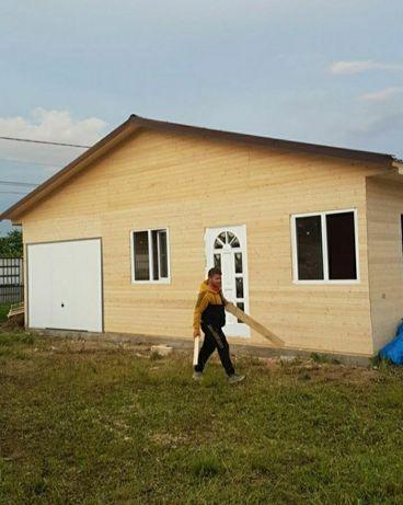 Vând case din lemn sau cabane