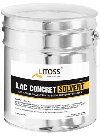 Lac beton amprentat/lac beton colorat/Imp/lac solvent