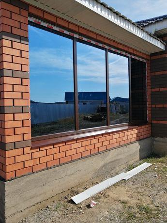 Изготовление иустановка металопластиковых окон двери перигороди балкон