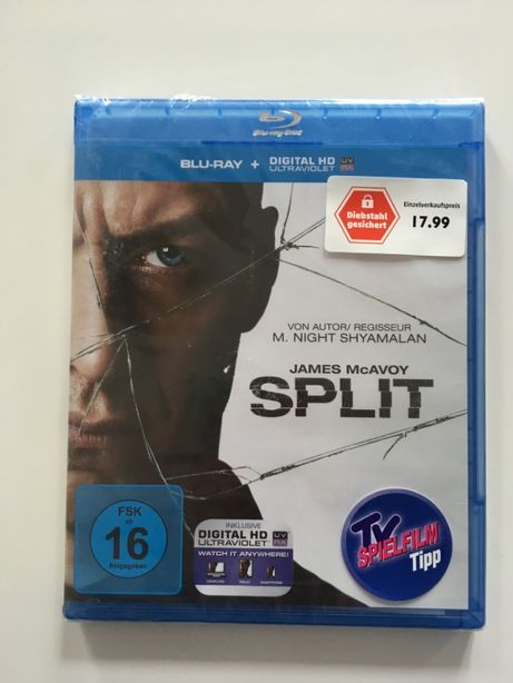 SPLIT film original Blue Ray dic lb engleza si germana