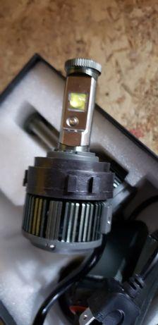 Lumini fază scurtă  LED H7 VW GOLF