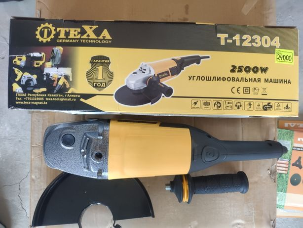 Угловая шлифовальная машина, Болгарка Texa по оптовой цене!