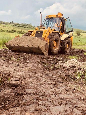 Executăm lucrări cu utilaje/ lucrări construcții / Canalizări etc.