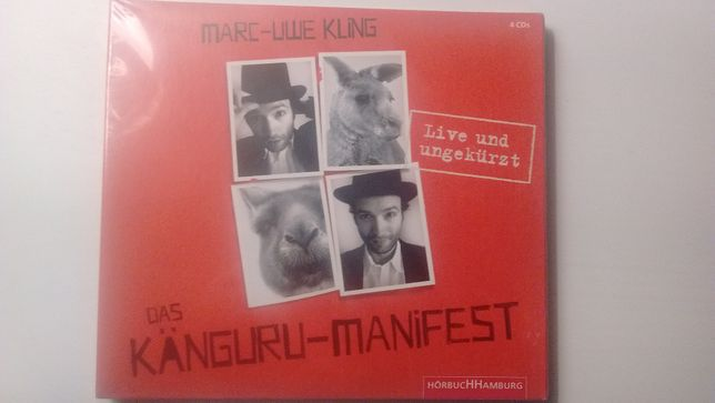 """Das Känguru-Manifest"" audiocarte (4 CDuri)"