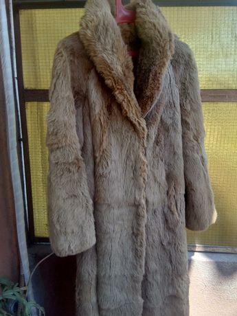Дамско естествен косъм палто от чинчила !