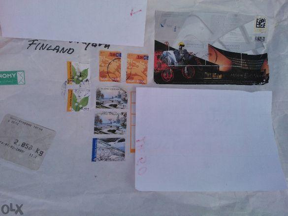 Продавам пътувал плик от Финландия