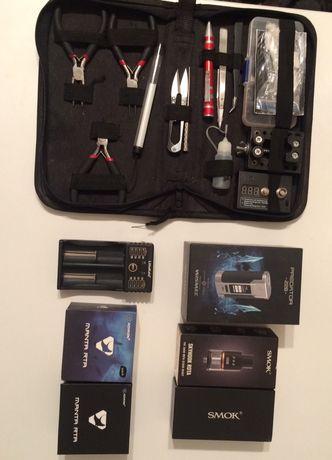 Продам ₽redаtor 228w + бак Manta RTA + бак-дрипка Skyhook RDTA + инстр
