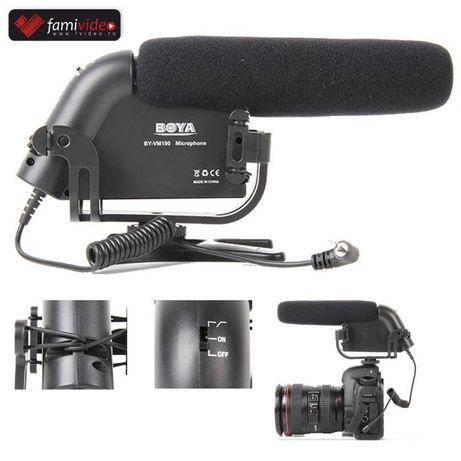 Microfon, Lavaliera profesionala DSLR, Camera video,Preturi Famivideo