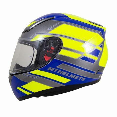 Mt helmets revenge каска пистова размер m пистов шлем каски мото мотор
