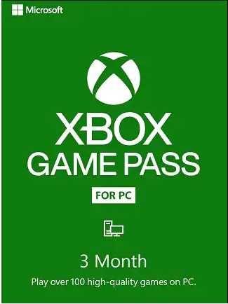 Xbox Game Pass 3 месяца PC (Доступ ко всей библиотеке игр Microsoft)