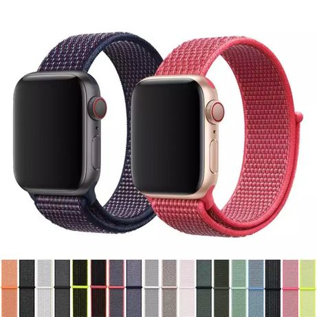 Curea Material Scai Apple Watch Seria 1/2/3/4/5/6/SE 38/40/42/44MM