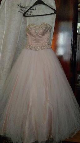 Rochie de mireasa printesa roz