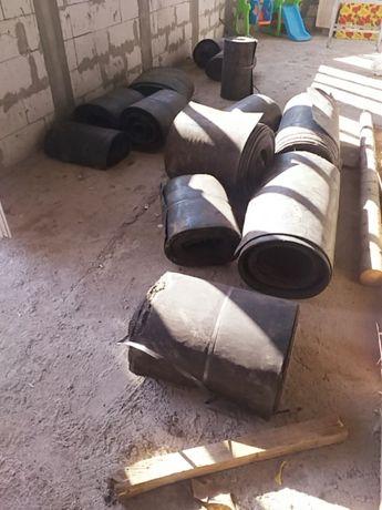 Vând bandă de cauciuc pentru balastiere covor bandă de cauciuc de pus