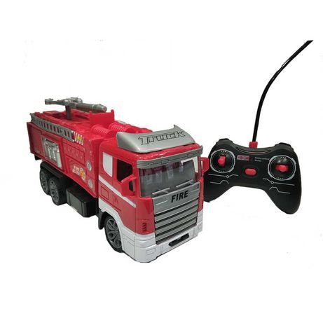Пожарна с дистанционно - детска играчка