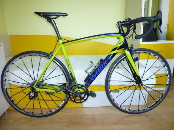 "Шосеен 28"" карбонов велосипед SPECIALIZED S-WORKS"