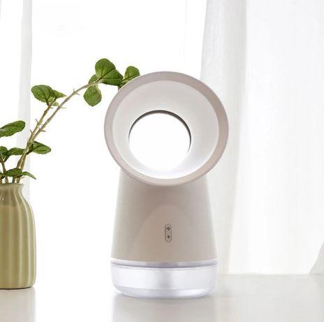 Вентилятор настольный + увлажнитель воздуха