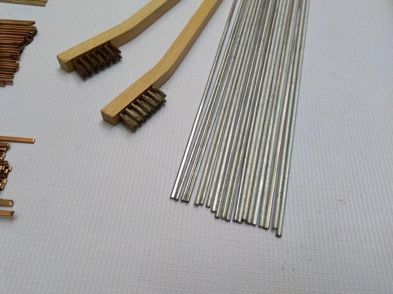 Припои,припой Алумин-мед нискотемпературен за работа с пропан горелка гр. Пазарджик - image 1