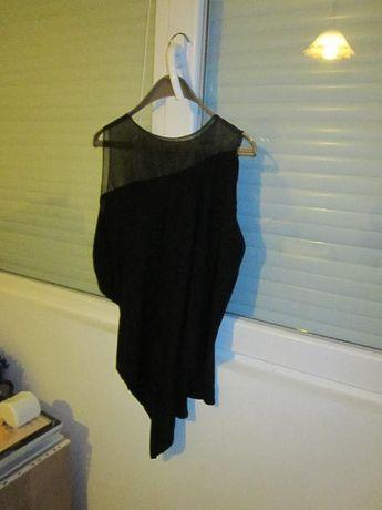 Дамска асиметрична блуза без ръкав