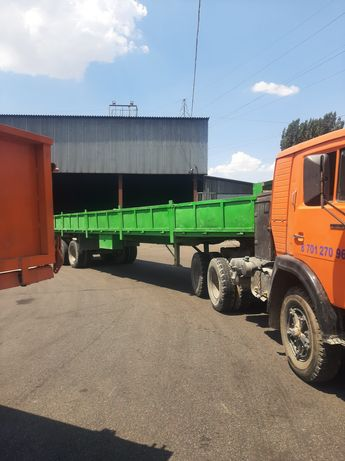 Услуги грузоперевозки длинномер шаланда контейнеровоз длиномер