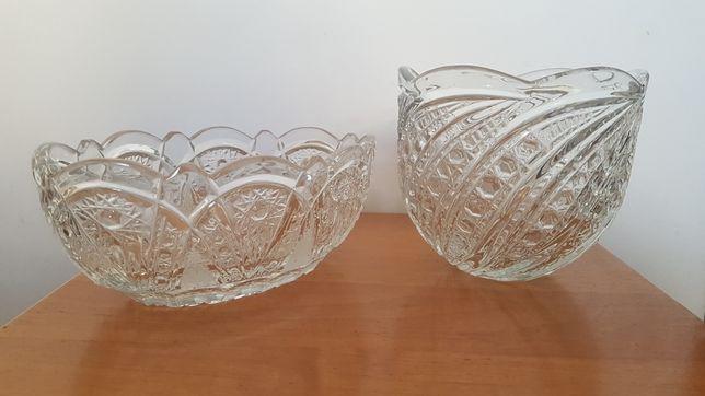 Салатница фруктовница рюмка хрусталь стекло