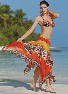 Fusta/ rochita Multistyle pt costum de baie; plaja