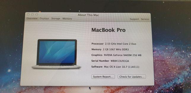 Laptop MacBook Pro A 1286