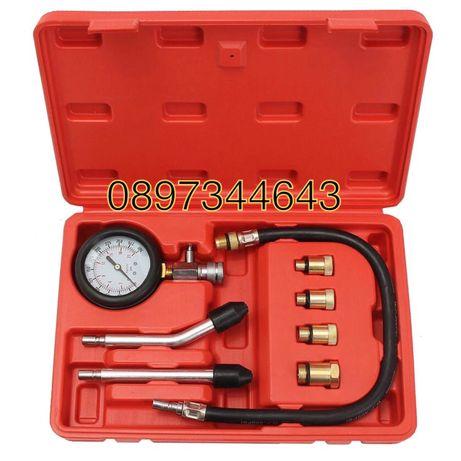 Компресомер за измерване компресия на бензинови двигатели