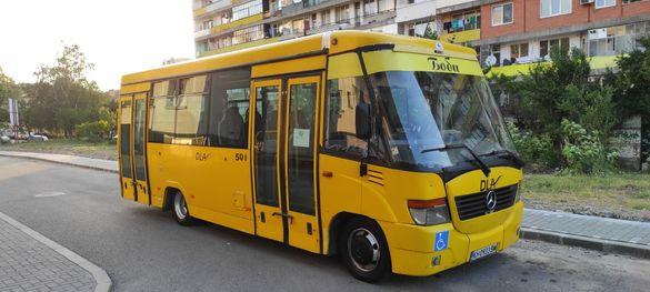 Градски автобус Mercedes 815