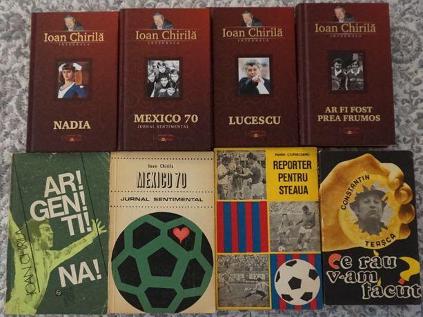 Lot carti cu tematica sportiva - Ioan Chirila, Constantin Teasca