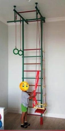 Детская шведская стенка распорная