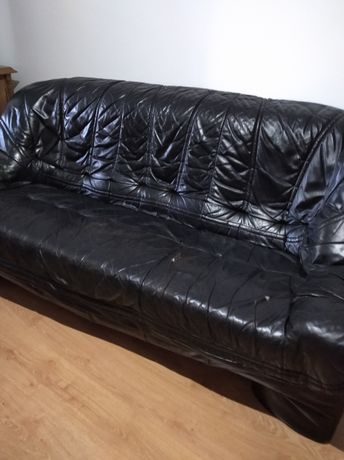 Canapele import piele naturala ,3 și 2 locuri