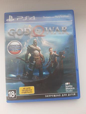 Продам игру God of war 4/год оф вар 4/бог войны 4.На пс4