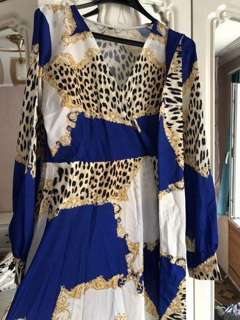 Турецкое леопардовое платье