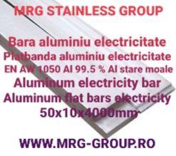 Platbanda aluminiu electricitate 50x10 bara dreptunghiulara cupru inox