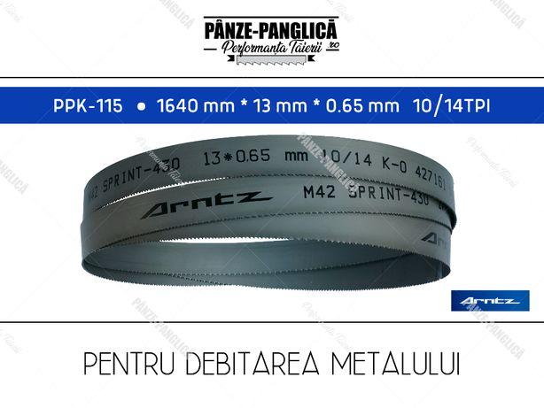 Panza panglica banzic metal 1640x13x10/14 M42 bimetal PPK-115